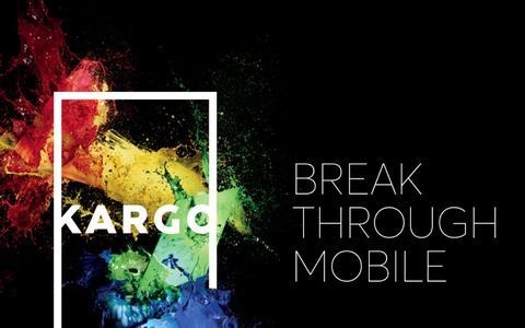 Screenshot of Home Page kargo.com - Kargo - captured April 17, 2016