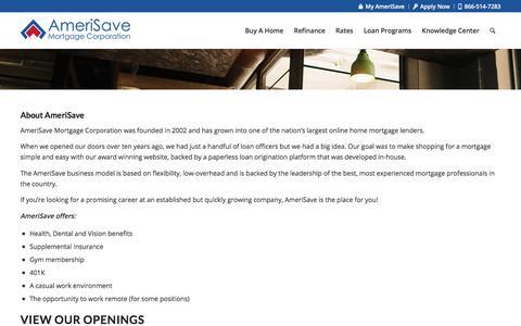 Careers - AmeriSave Mortgage Corporation