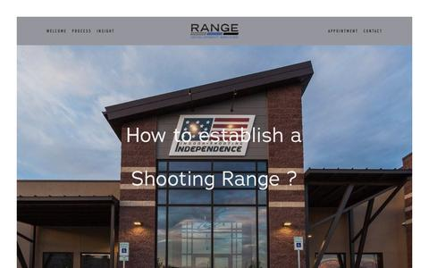 Screenshot of Home Page rangedevelopmentservices.com - Your Site Title - captured Dec. 20, 2018