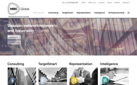 Screenshot of Home Page hmcglobal.co.uk - HMC Global | Foreign Direct Investment | HMC Global - captured Jan. 23, 2016