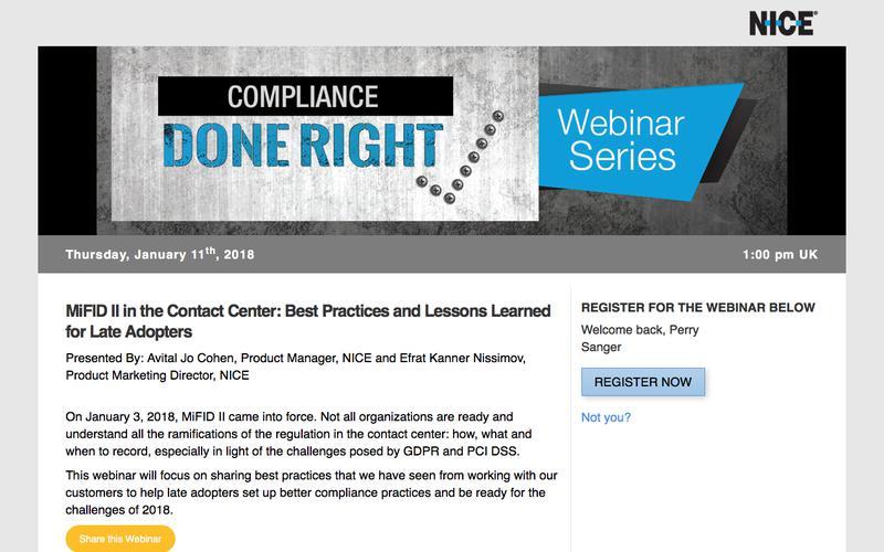 Enabling Organizations to Operationalize Big Data | NICE