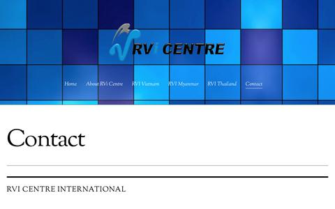 Screenshot of Contact Page rvcentre.com.sg - Contact - captured Dec. 20, 2016