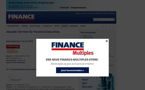 Termine FINANCE-FINANCE Magazin