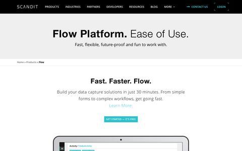 The Scandit Flow Platform