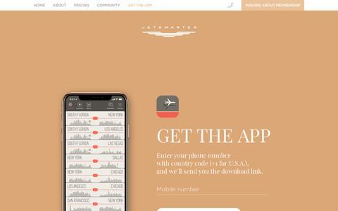 Get the app   JetSmarter