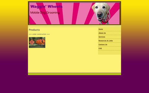 Screenshot of Pricing Page wagginwheelsmobilegrooming.com - mobile dog grooming, Waggin' Wheels Mobile Dog Grooming Eugene, OR Eugene, OR Pricing - captured Oct. 7, 2014