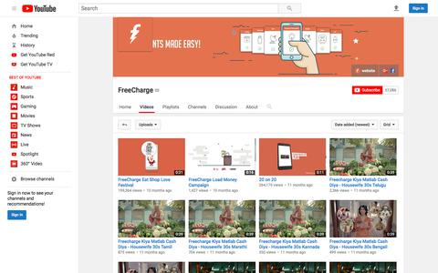 FreeCharge  - YouTube