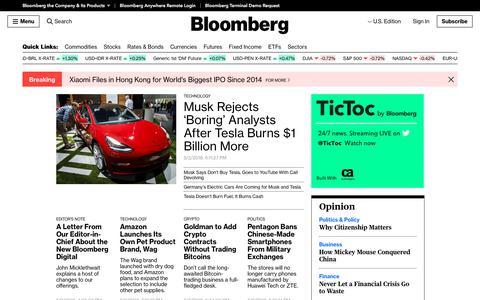 Bloomberg - Bloomberg