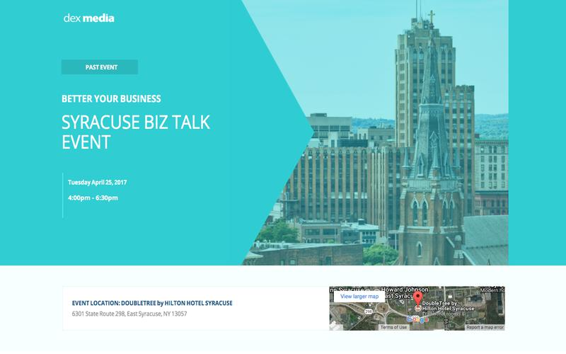 Syracuse Biz Talk Event