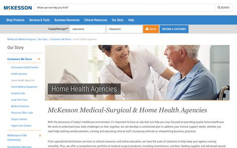 Home Health Agencies - McKesson Medical-Surgical