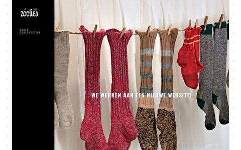 Screenshot of Home Page zoolies.nl - Under construction » Studio ZooLies | illustratie - vormgeving - productie - captured Oct. 18, 2018