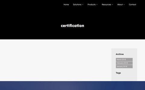 certification – Configit