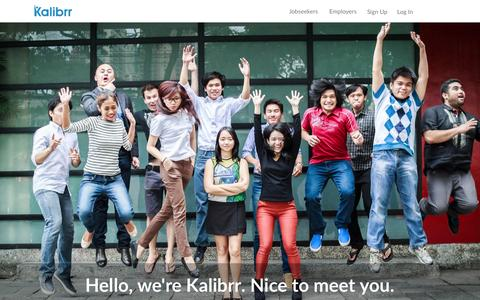 Kalibrr: Where Jobs Find You