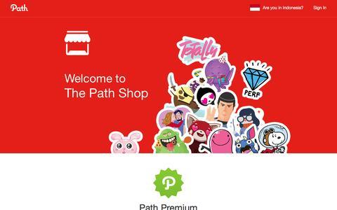 Screenshot of path.com - Path — Social - captured March 19, 2016