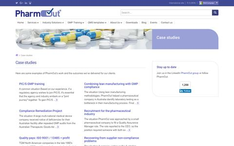 PharmOut clients