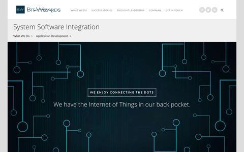 System Software Integration - Bit-Wizards | Software, Marketing, Cloud Solutions
