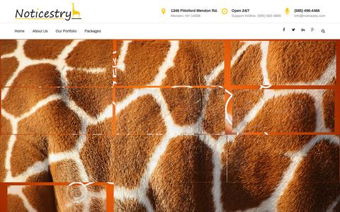 Noticestry - Crafting your online presence (Website Design)