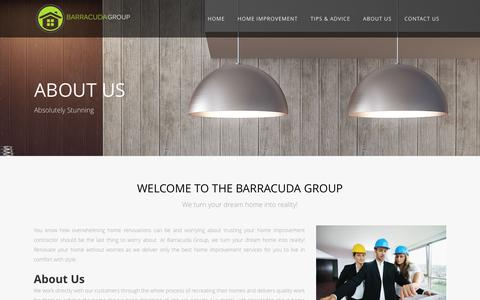 Screenshot of About Page barracudagroup.co.uk - About Us - The Barracuda Group - captured June 1, 2017
