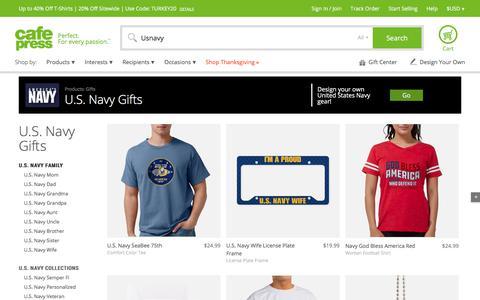 U.S. NAVY Gifts - CafePress