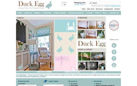 Screenshot of Login Page duckeggdesigns.com - Duck Egg Designs - Duck Egg Interiors, Duck Egg Interior Design at DuckEggDesigns.com - captured Sept. 30, 2014