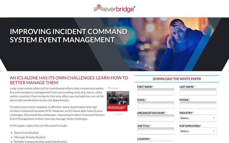 Improving Incident Command System Event Management