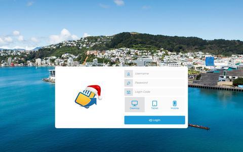 Screenshot of Login Page newbook.cloud - Login - NewBook - captured Dec. 5, 2019