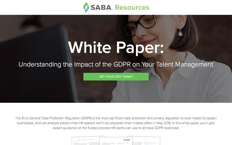 Understanding the Impact of the GDPR on Your Talent Management