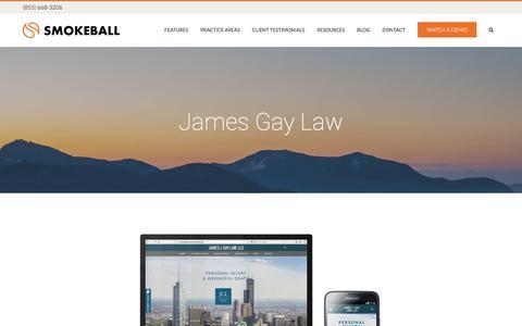 James Gay Law - Smokeball