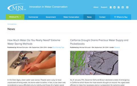 Screenshot of Press Page gomjsi.com - News - gomjsi - captured Oct. 3, 2014