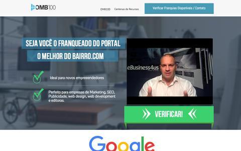 Screenshot of Home Page omb100.net - Franquia digital o Melhor do Bairro, | Franquia digital O Melhor do Bairro - captured Nov. 18, 2015