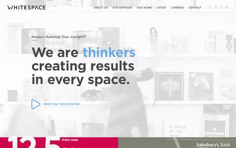 Creative and Digital Agency Edinburgh - Whitespace