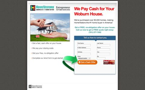Screenshot of Landing Page webuyuglyhouses.com - We'll Buy Your House! - captured Oct. 27, 2014
