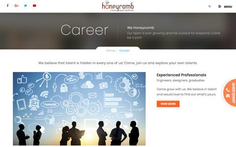 Honeycomb Creative Support - Careers