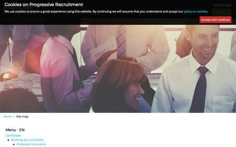 progressiverecruitment.com | Site map