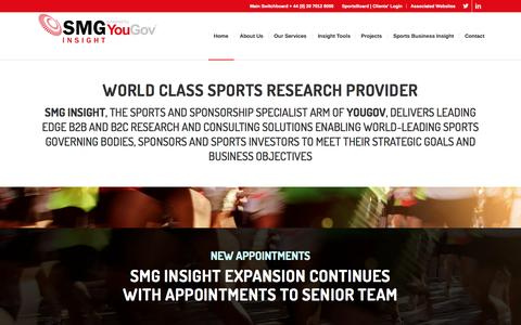 SMG Insight | Powered by YouGov | Leading Edge Sports Research