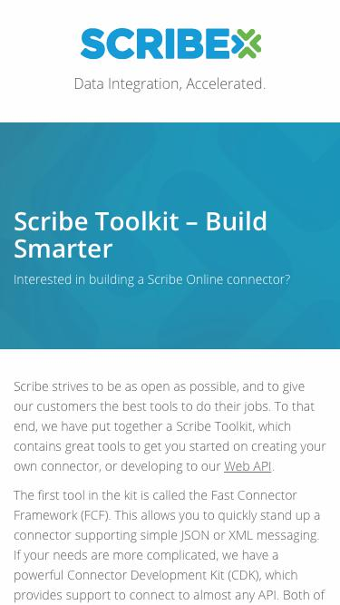 Scribe - Resources