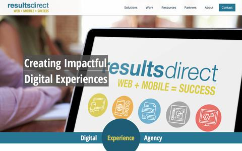 Results Direct — Digital Experience Agency