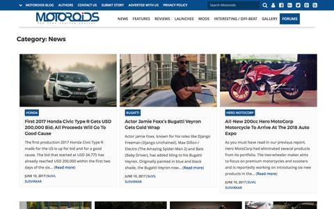 Latest Cars & Bike News in India - Motoroids