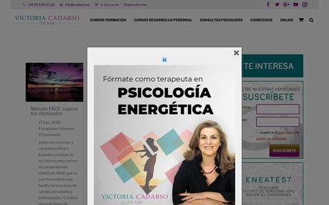 Screenshot of Blog victoriacadarso.com - El blog de Victoria Cadarso Team   Victoria Cadarso Team - captured Sept. 23, 2018