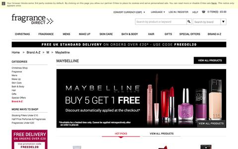 Maybelline Make Up & Cosmetics | Fragrance Direct