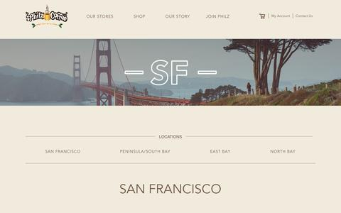 Find your Store in SF | Philz Coffee