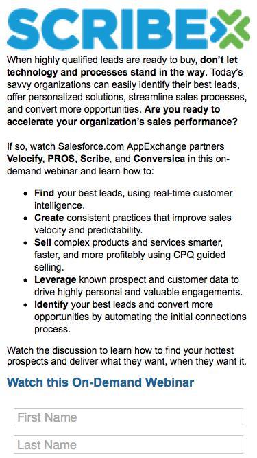 Close More Deals on Salesforce.com On-Demand Webinar