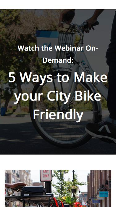 5 Ways to Make Your City Bike Friendly - Register