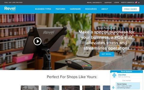 Retail POS System   Retail Point of Sale   Revel Systems