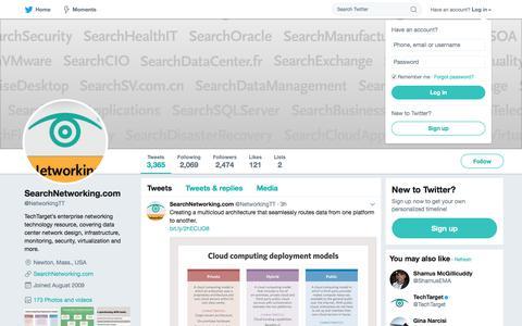 SearchNetworking.com (@NetworkingTT)   Twitter