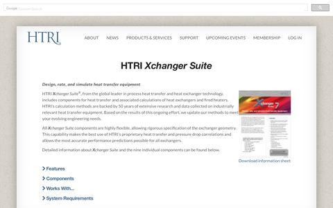 HTRI Xchanger Suite  | HTRI