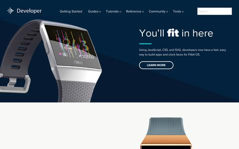 Fitbit SDK