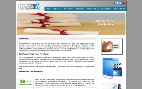 Screenshot of Products Page infuseituk.com - Products  | Infuseit - captured Oct. 6, 2014