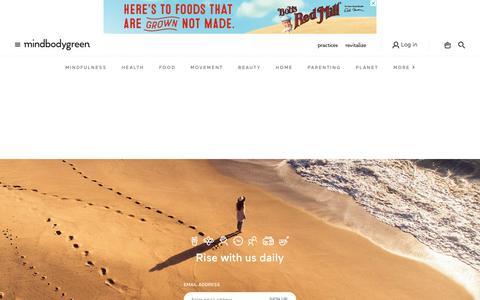 Screenshot of Contact Page mindbodygreen.com - Contact Us - mindbodygreen - mindbodygreen - captured Aug. 11, 2018