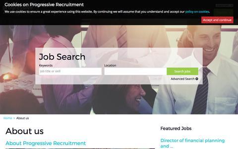 progressiverecruitment.com | About us